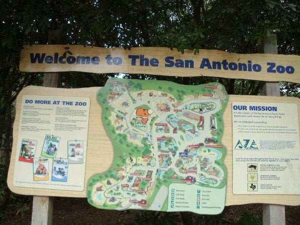 San Antonio Zoo Map - Yelp