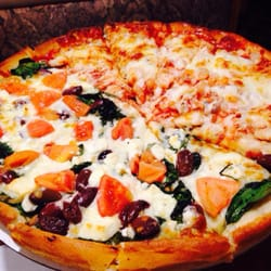 Photo Of Yannis Pizza Restaurant Newington Ct United States Half Seafood And