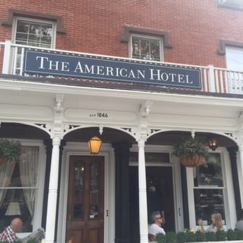 Photo Of The American Hotel Sag Harbor Ny United States Breakfast In