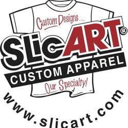 Slicart Custom Apparel - Screen Printing/T-Shirt Printing