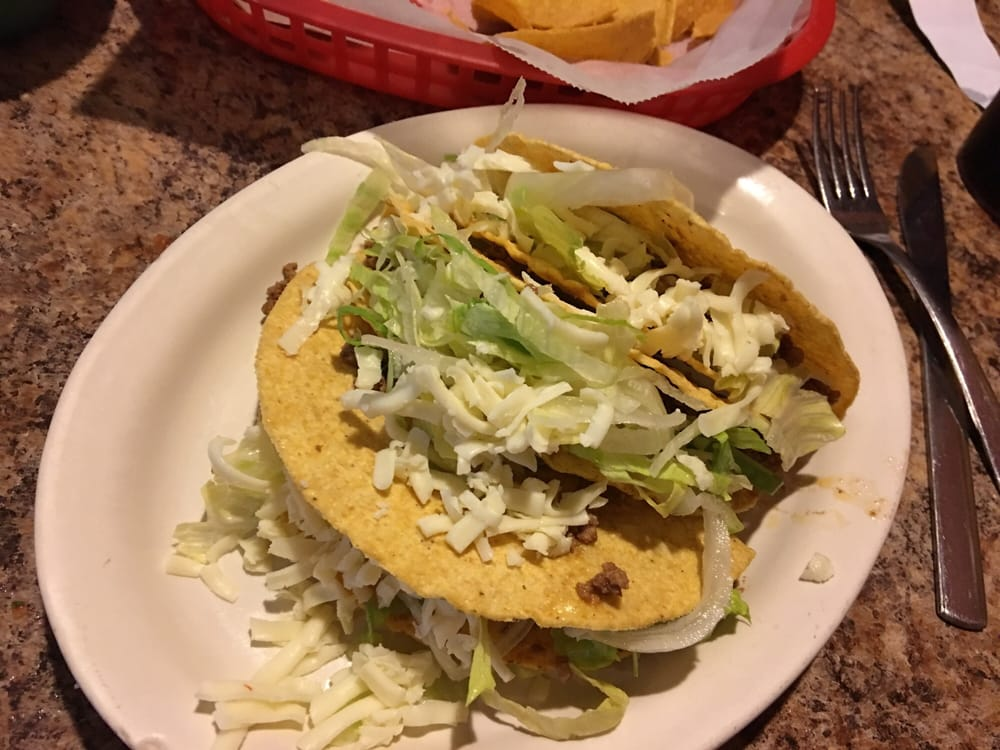 Food from Vallarta Mexican Restaurant