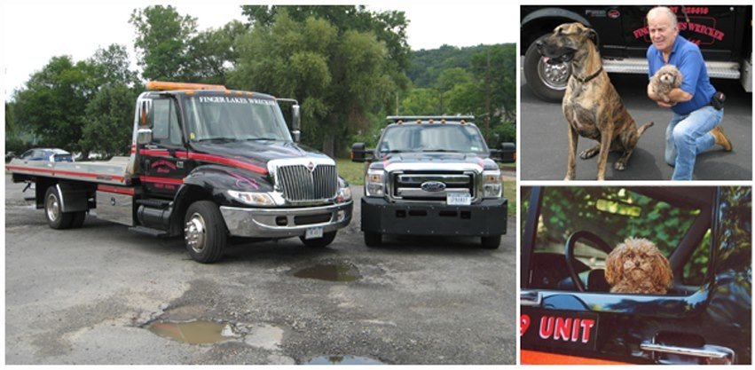 Towing business in Ithaca (Town), NY