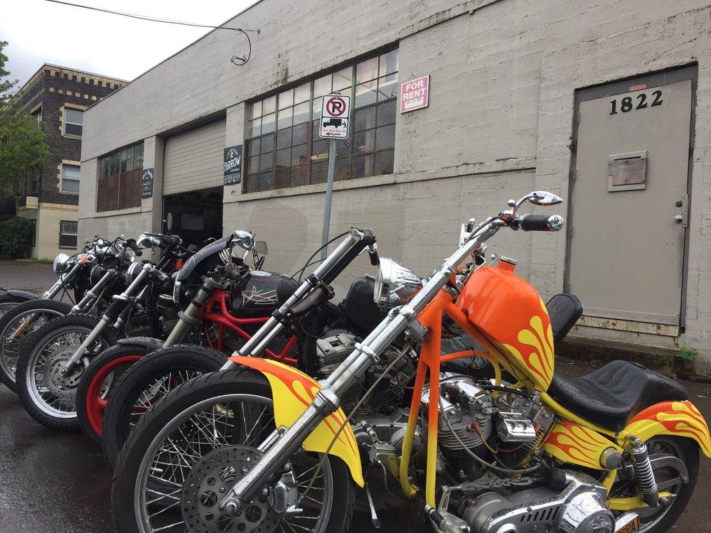 Dirty Hands Garage: 1847 East Burnside St, Portland, OR
