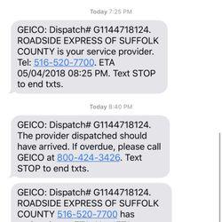 Geico Roadside Assistance Phone >> Lightning Roadside Assistance 55 Reviews Roadside