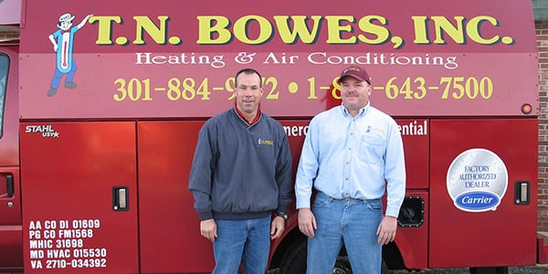 T N Bowes Heating & Air Conditioning: 26743 Radio Station Way, Leonardtown, MD