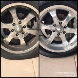 Photo Of Twiizted Detailing   Port Charlotte, FL, United States. Tire  Cleaning