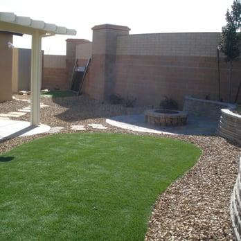 photo of advantage landscape las vegas nv united states backyard