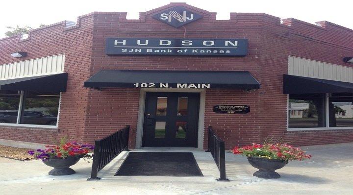 SJN Bank of Kansas | 102 N Main St, Hudson, KS, 67545 | +1 (620) 458-4411
