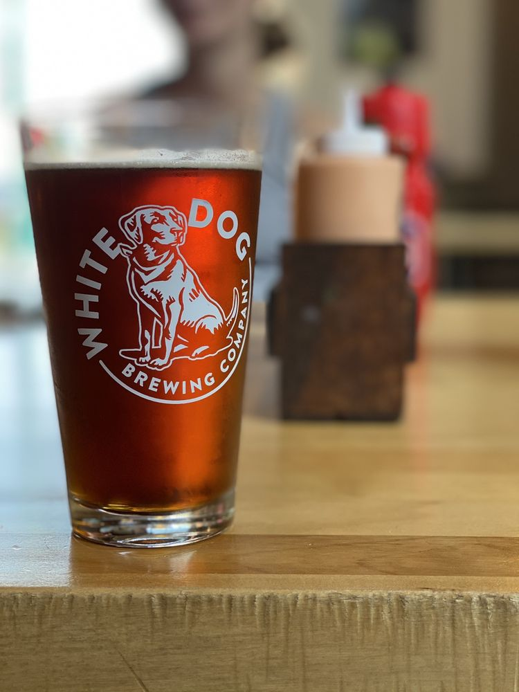 Food from White Dog Brewing