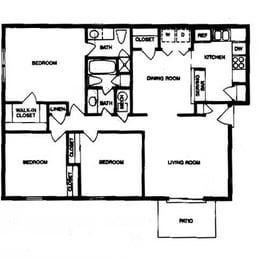 Caswyck Trail Apartments Marietta Ga