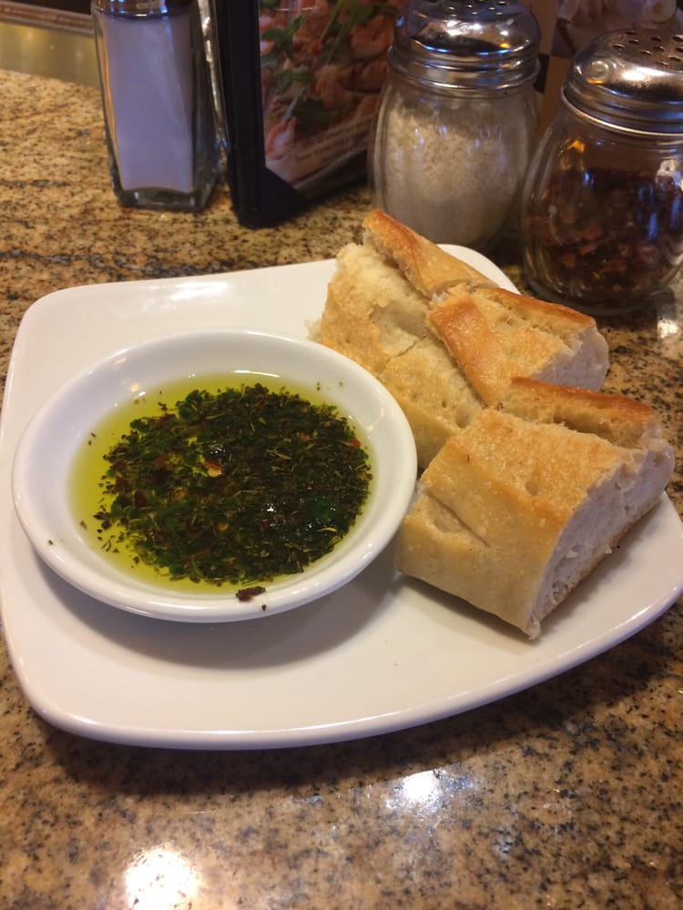 Bread And Herbed Olive Oil While You Wait Yelp