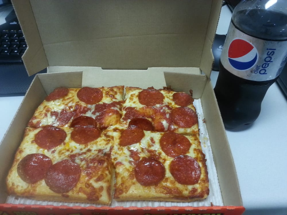 P O Of Little Caesars Pizza Raleigh Nc United States 5 Dollar Lunch