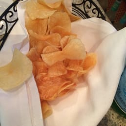 Sparkill Steakhouse - Sparkill, NY, United States. Home made chips at the bar.  Mmmm.