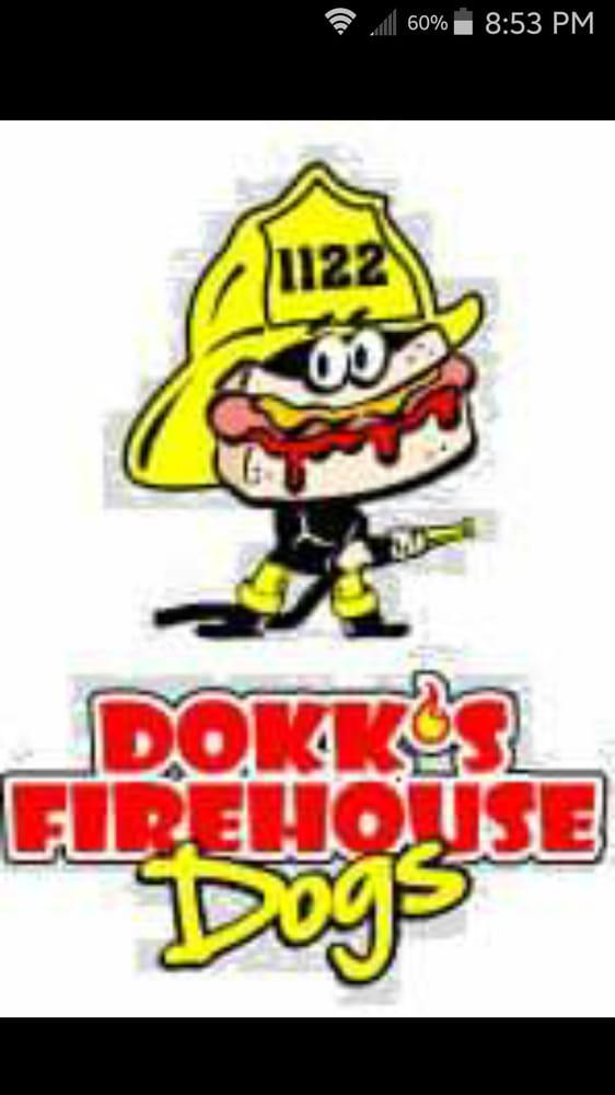 Dokk's Firehouse Dogs: 150 W 8th St, Holland, MI