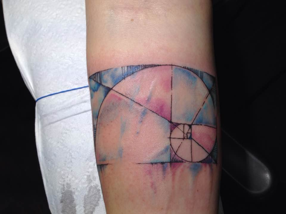 Watercolor by jason d yelp for Gilded heart tattoo