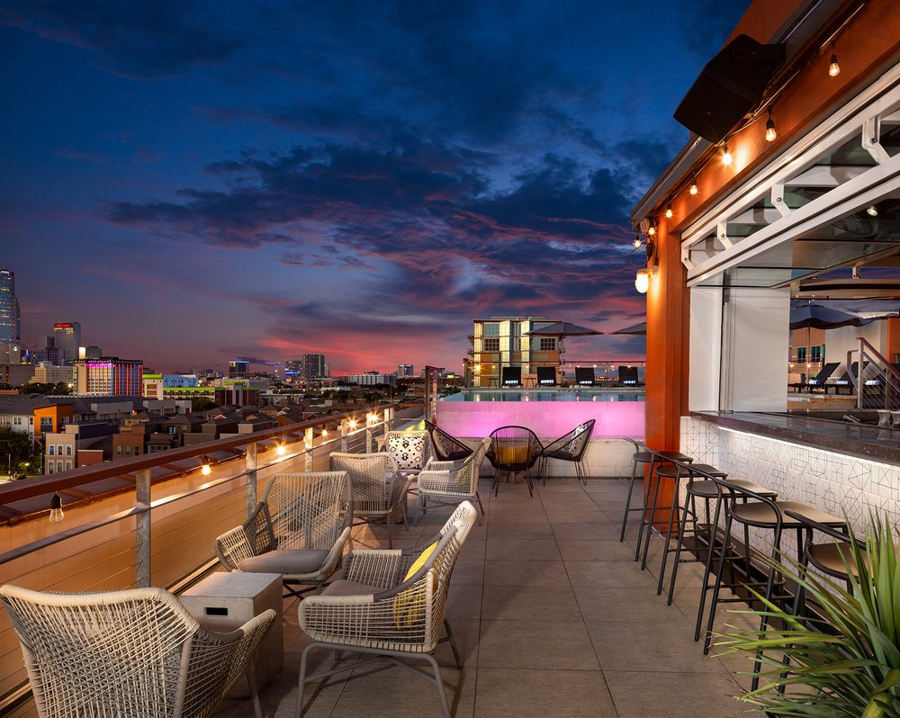 The Gallery Rooftop Lounge: 1325 S Lamar St, Dallas, TX