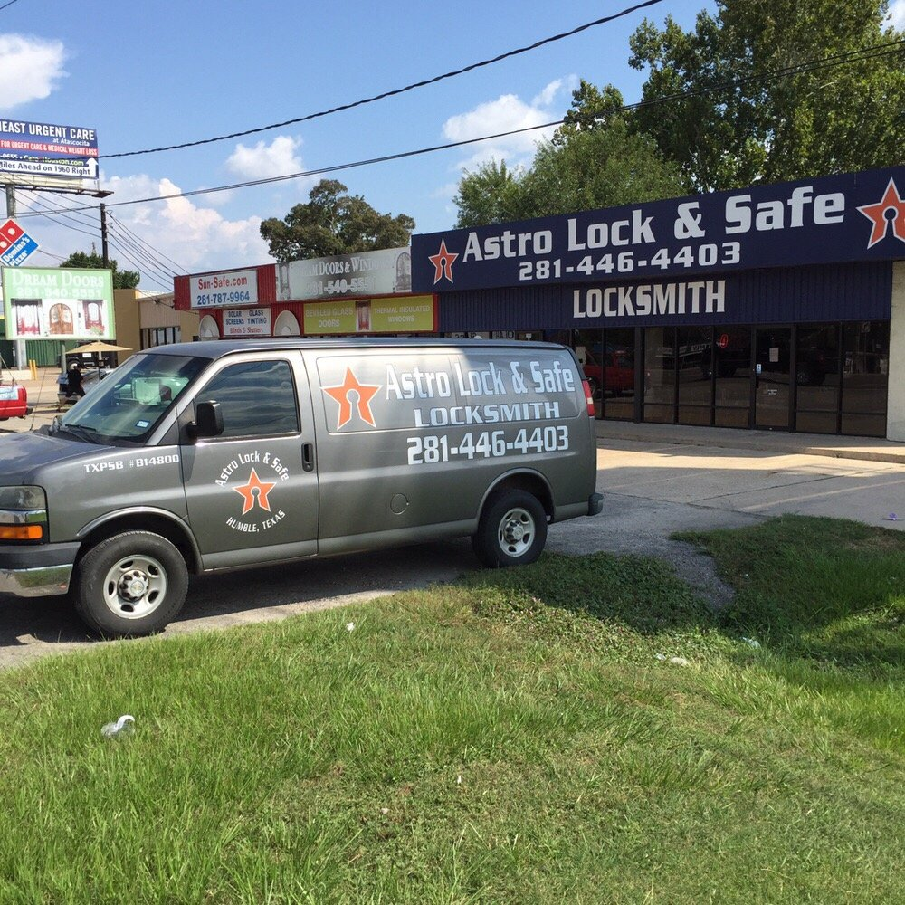 Astro Lock & Safe: 1004 Fm 1960 Bypass Rd E, Humble, TX