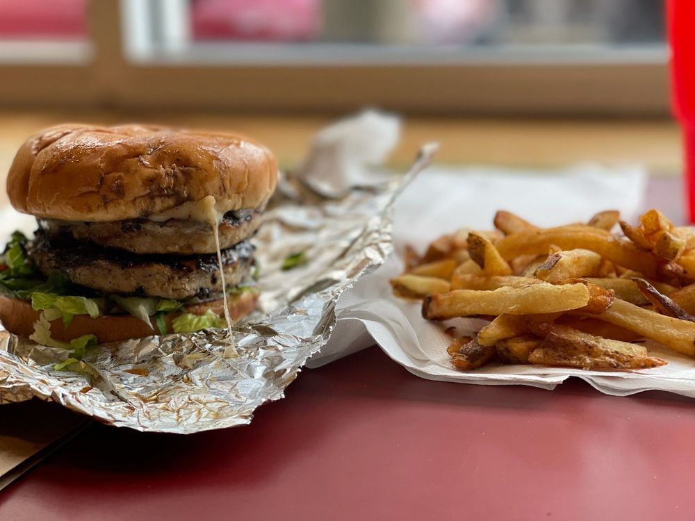 Food from Burger Bros