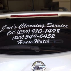 Photo Of Janu0027s Cleaning Service   Cape Coral, FL, United States. My Suv