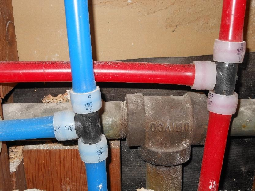 pex is a flexible and durable alternative to copper pipe