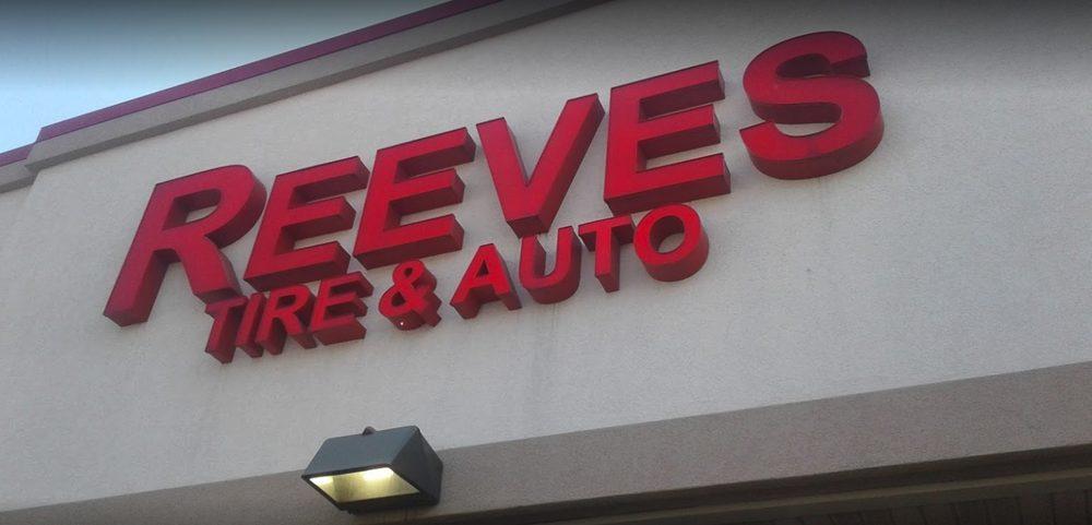 Reeves Tire & Auto: 1613 S Madison St, Webb City, MO