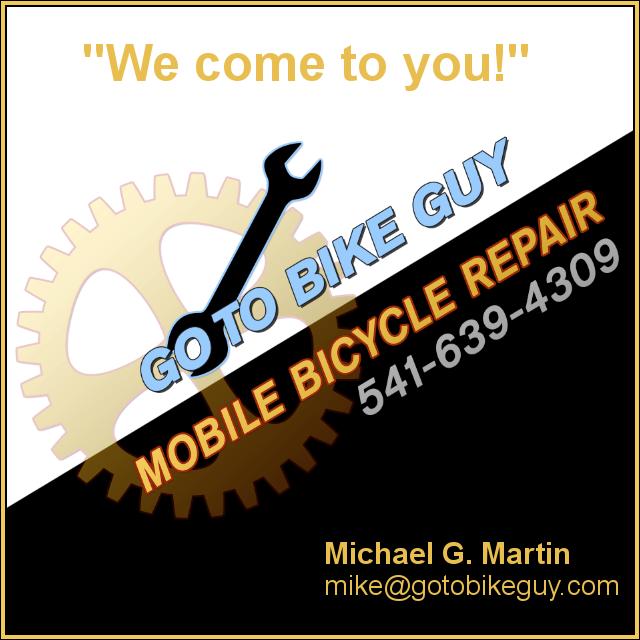 GoTo Bike Guy, Mobile Bicycle Repair: Sunriver, OR