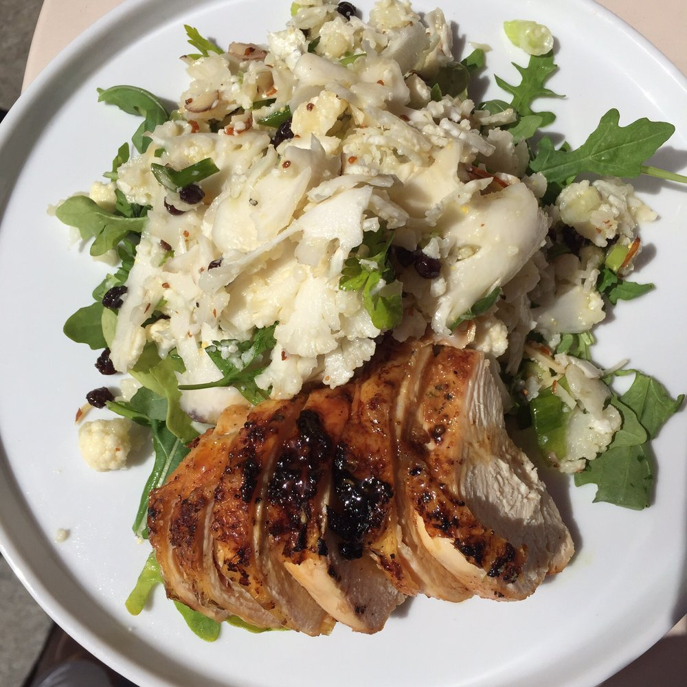 Cauliflower salad with roasted chicken yelp for Uplifters kitchen
