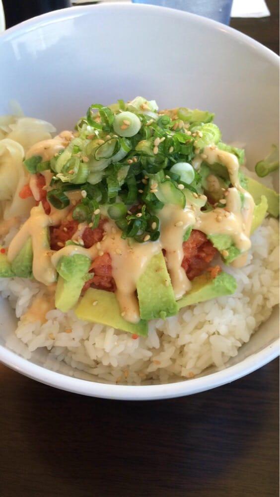 Spicy tuna bowl - Yelp