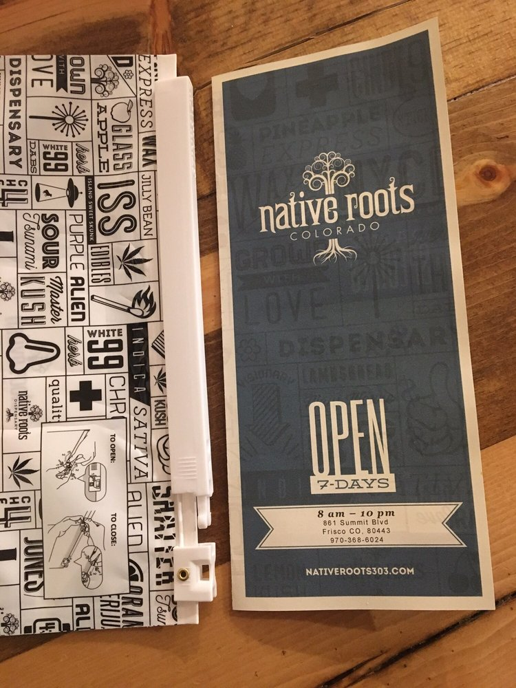 Native Roots Dispensary - Frisco: 861 Summit Blvd, Frisco, CO