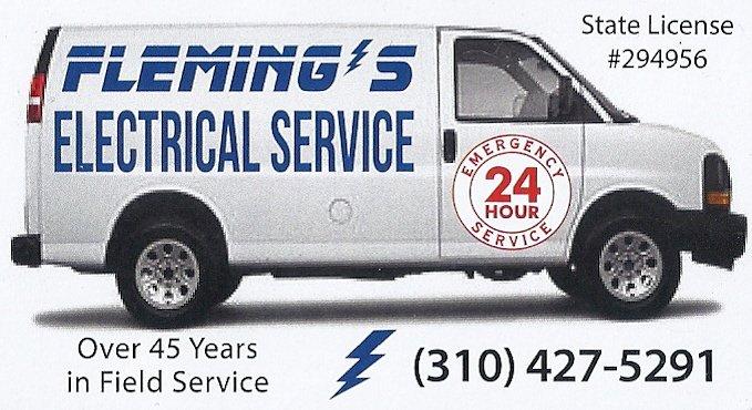Fleming Electrical Service: 11909 Manzanilla Ln, Los Angeles, CA