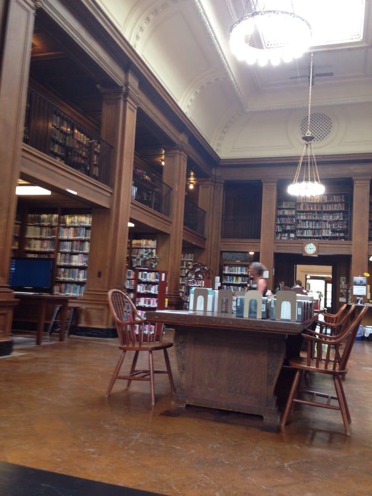 Jesup Memorial Library: 34 Mount Desert St, Bar Harbor, ME