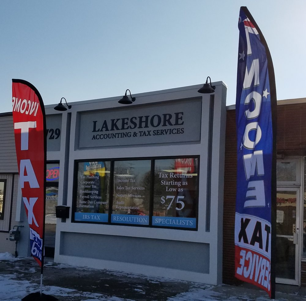 Lakeshore Accounting & Tax Services: 14729 Champaign Rd, ALLEN PARK, MI