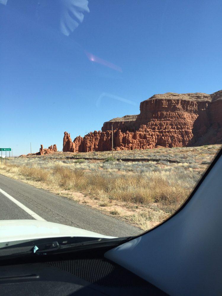 Baby Rocks: US 160, Kayenta, AZ