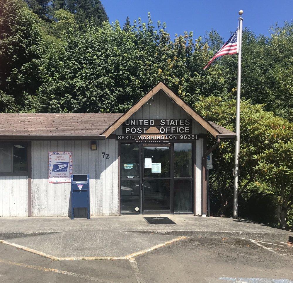 US Post Office: 72 Washington St, Sekiu, WA