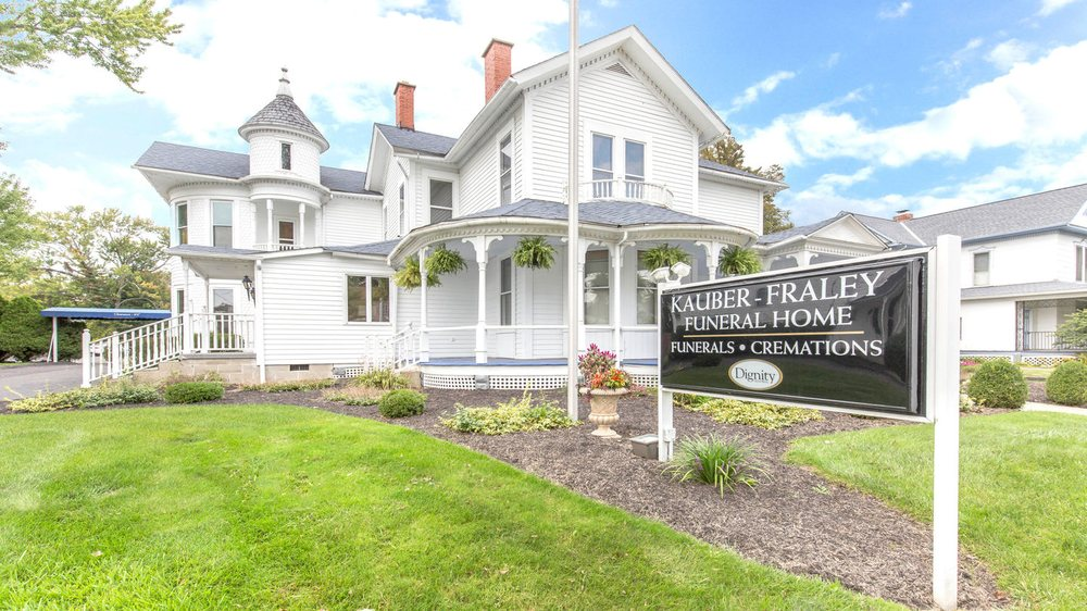 Kauber-Fraley Funeral Home: 289 S Main St, Pataskala, OH