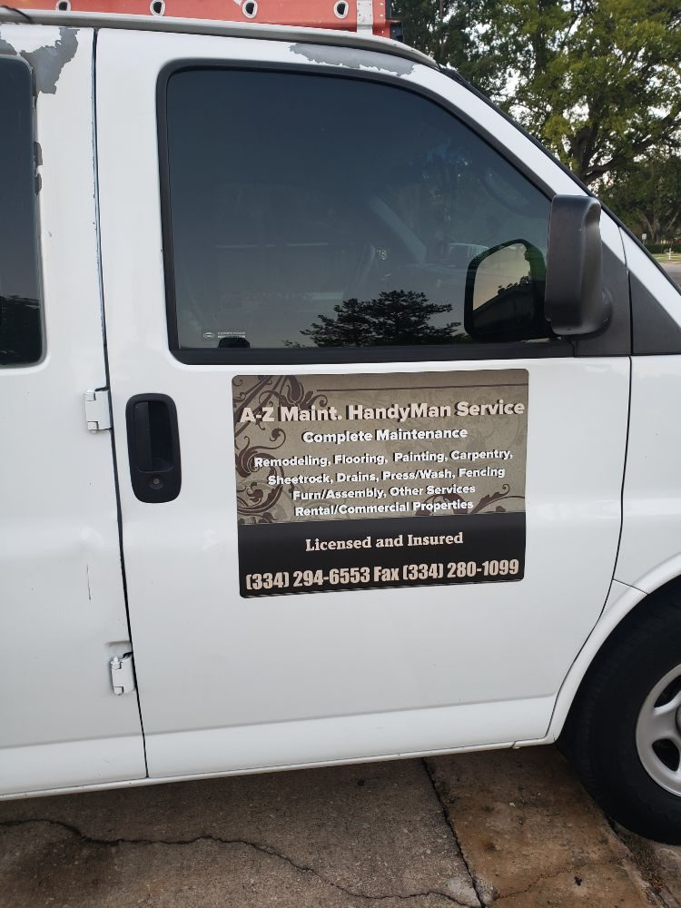 A-Z Maintenance Handyman Services