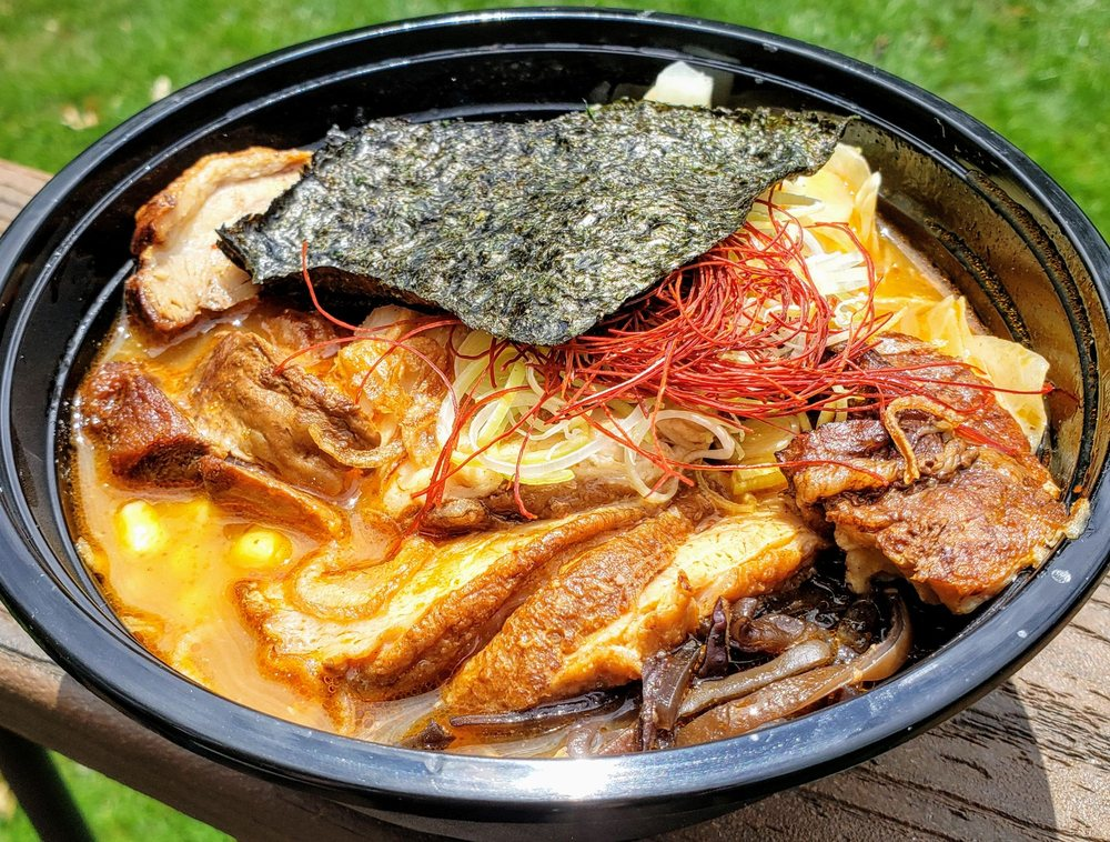 Food from Sum Ramen