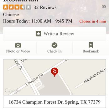 Chinese Food Delivery In Spring Tx