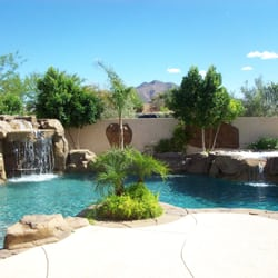 Photo Of American Backyards   Gilbert, AZ, United States. A Pool With A