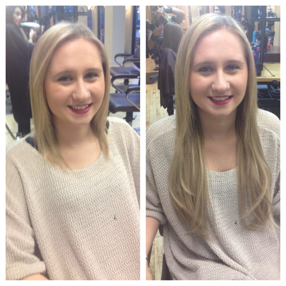 Before And After Hot Heads Hair Extensions By Kadi Yelp