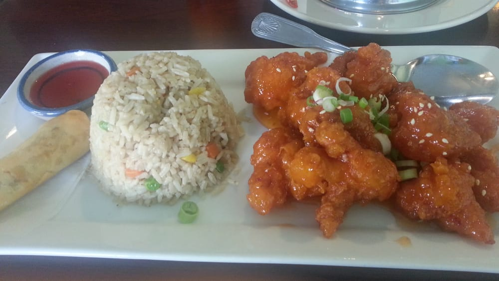 The Orange Chicken Was Delicious Crispy And Sweet Yelp