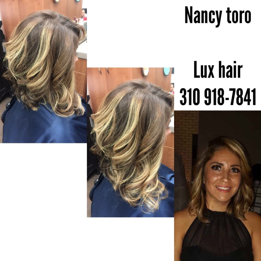 Color and cut by nancy toro yelp for Lux hair salon
