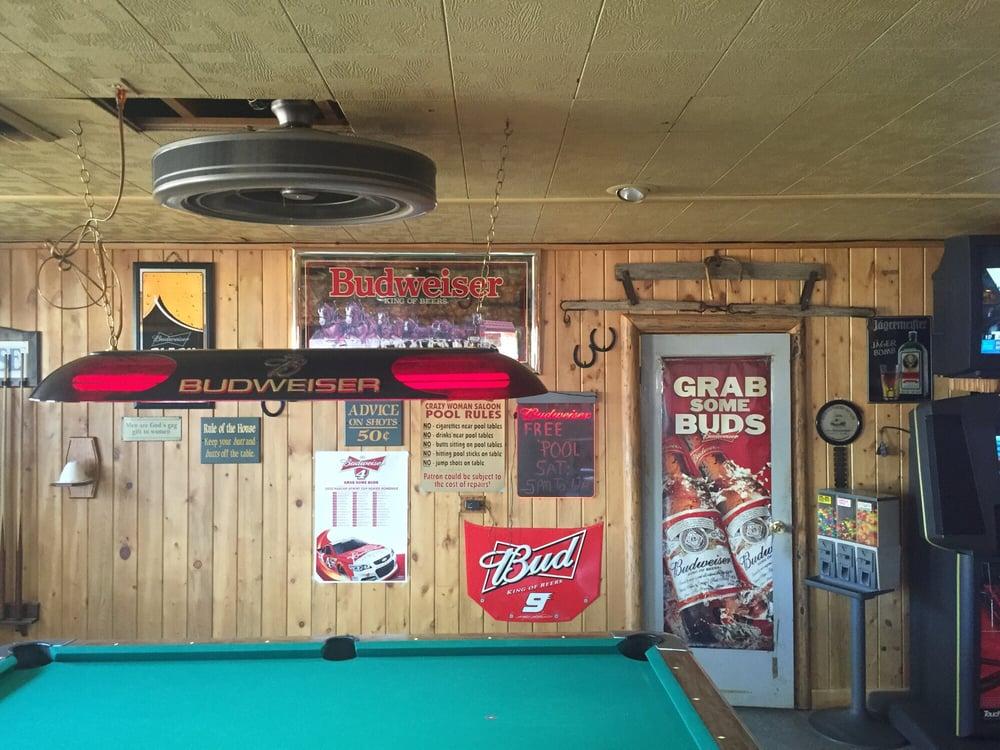Crazy Woman Saloon: 307 Main, Dayton, WY