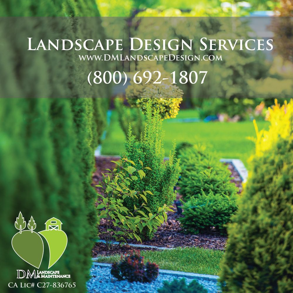 DM Landscape & Maintenance: 625 N Philadelphia St, Anaheim, CA