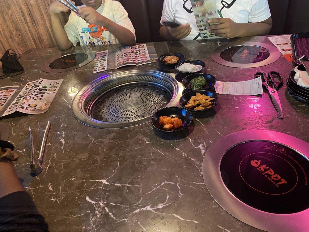 Food from KPOT Hot Pot & Korean Barbecue