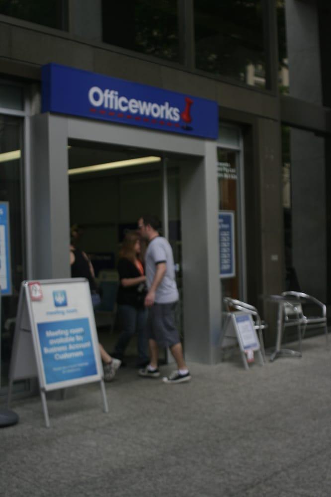 Officeworks: 102 Adelaide St, Brisbane, QLD