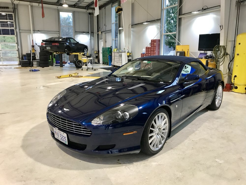 This Aston Martin Received Our Deluxe Detail Treatment Yelp - Aston martin new england