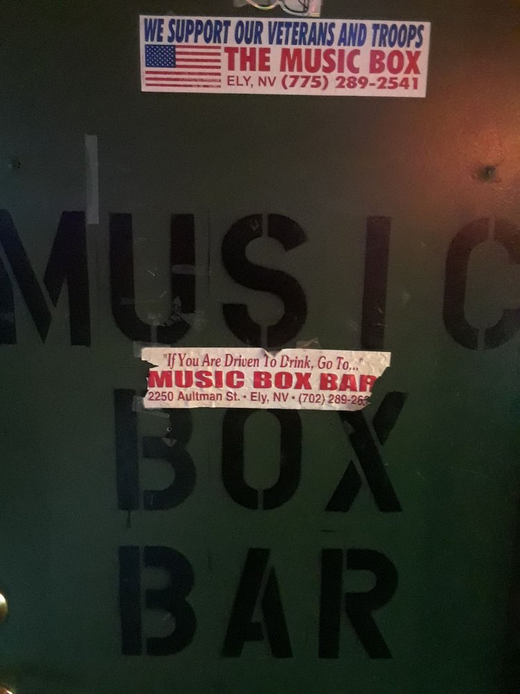 Music Box: 2250 E Aultman St, Ely, NV