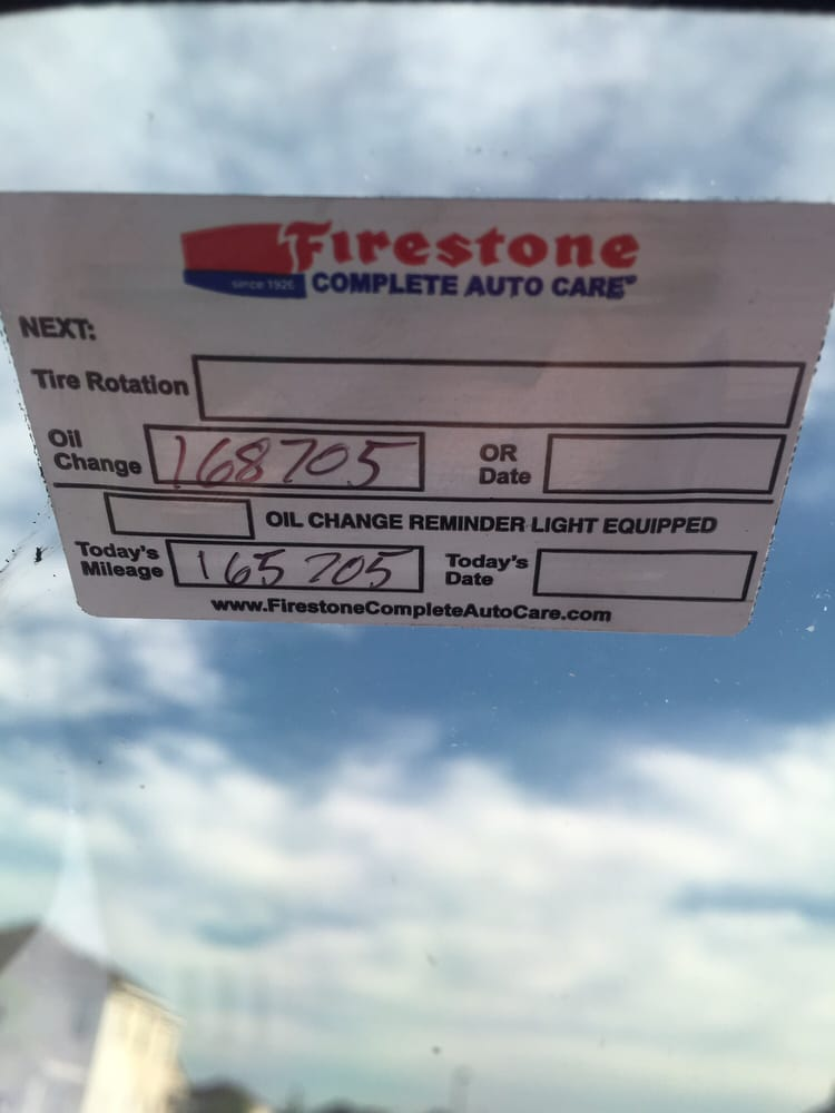 How Much Is An Oil Change At Firestone >> Firestone Complete Auto Care Tires 200 Wilbur Wright Dr
