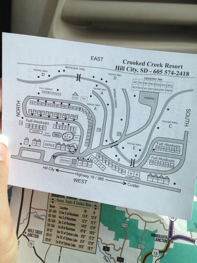 Rv hookup map